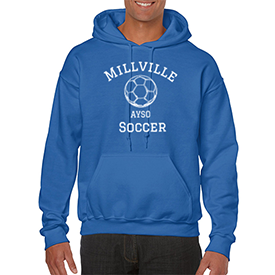 Millville AYSO hoodie
