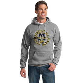 Montoursville Youth Football and Cheerleading hoodie