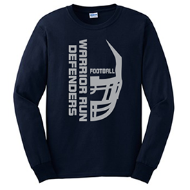 Warrior Run Football long sleeve