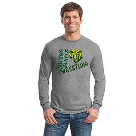 Wyalusing Wrestling long sleeve