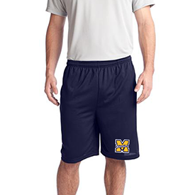 Montoursville Youth Football and Cheerleading shorts