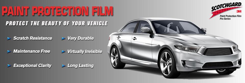 Scotchgard 3m paint protection films advertising for Car paint protection film cost