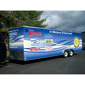 Montoursville Band Trailer cargo vehicle