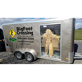 Big Foot Crossing cargo vehicle