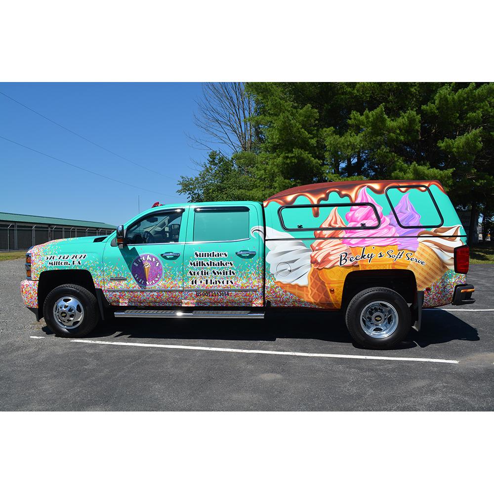 Vehicle Wraps | Advertising Promotional Products | 1625 John